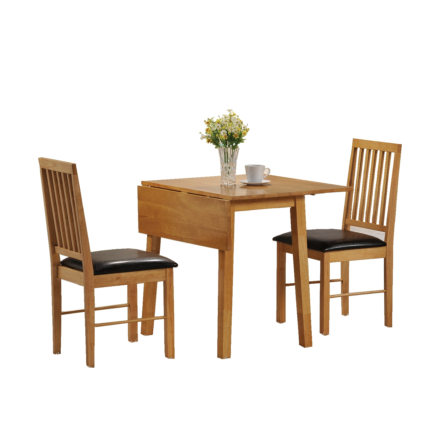 dining table and 2 chairs set 2 seater drop leaf set small dining