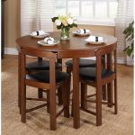 dining table set for 4 small spaces round kitchen table and