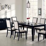 dining tables modern kitchen table round glass table with chairs