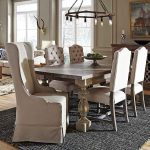 dinings kitchens create royal look using wingback dining