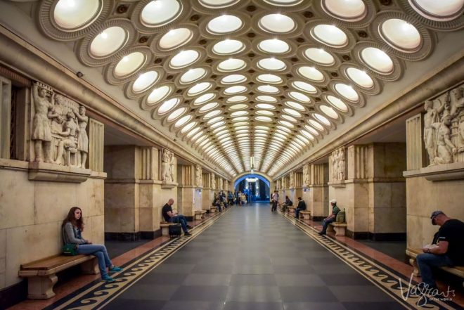 discover the most beautiful moscow metro stations