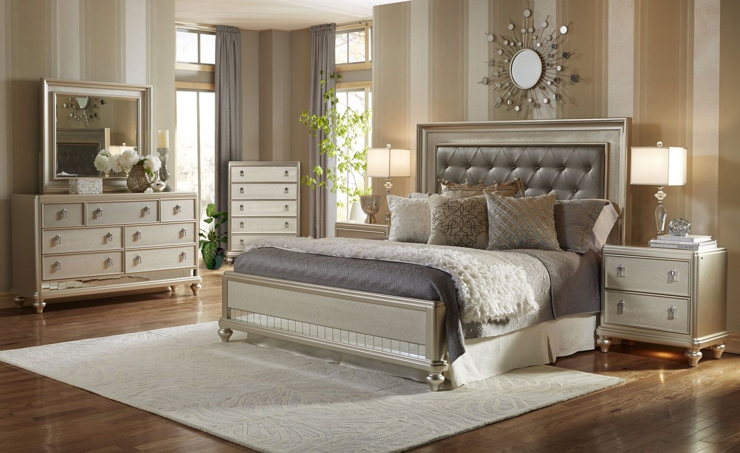 diva 8 piece queen bedroom package interiors bedrooms