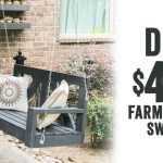 diy 40 farmhouse porch swing youtube