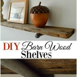 diy barn wood shelves bloggers best diy ideas barn wood
