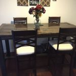 diy counter height farmhouse dining table rustic tables