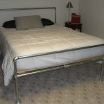 diy galvanized steel pipe bed frame ob build your own