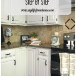diy how i painted my kitchen cabinets painting kitchen