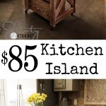 diy kitchen island inspired pottery barn love this and