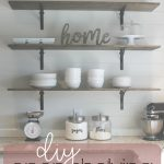 diy kitchen shelves for under 100 how to life storage blog