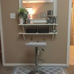 diy make up vanity for cheap mirror from tj max and wood