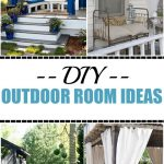 diy outdoor room ideas on a budget home fashion outdoor