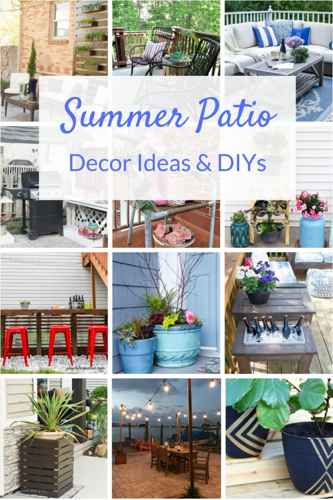 diy patio ideas two purple couches
