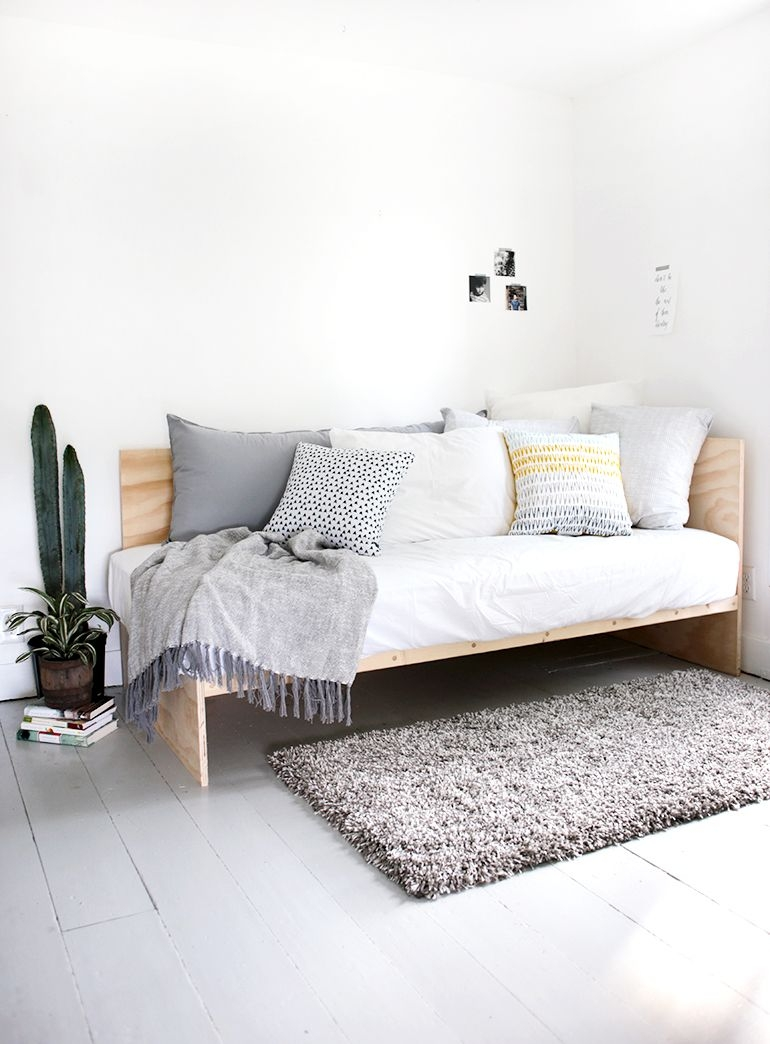 diy plywood daybed diy daybed modern daybed diy furniture