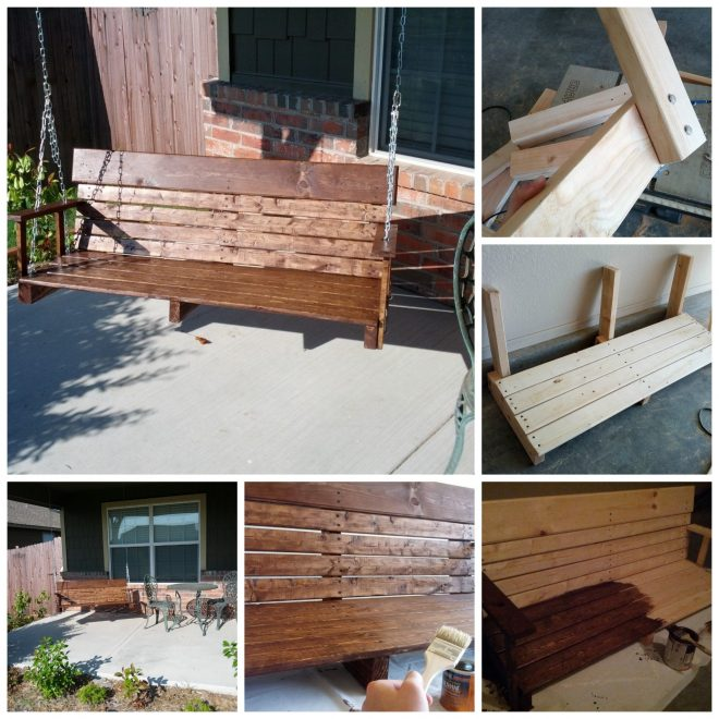 diy porch swing ideas