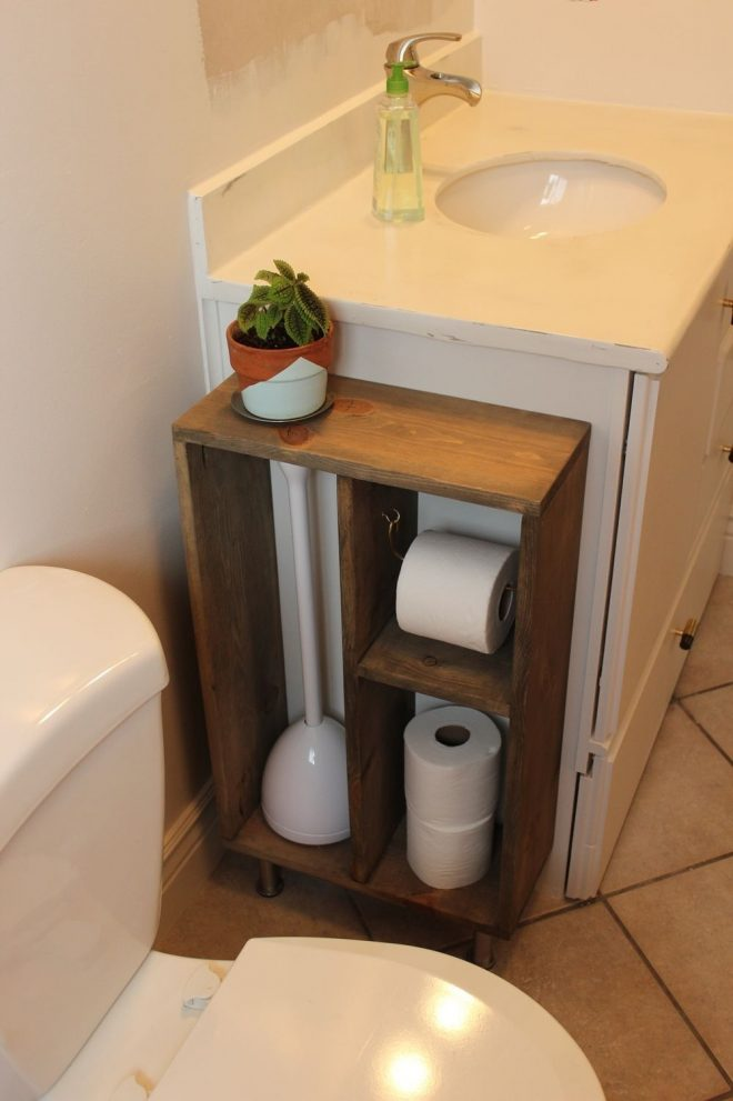 diy simple brass toilet paper holder new house ide