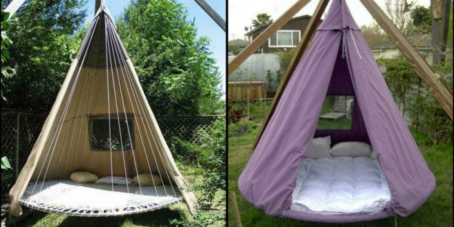 diy trampoline bed swing how to upcycle your trampoline