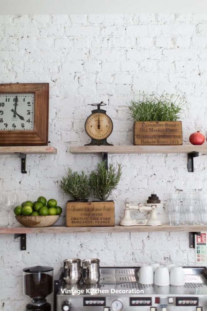 diy vintage ideas for kitchen 1 wooden kitchen cupboard