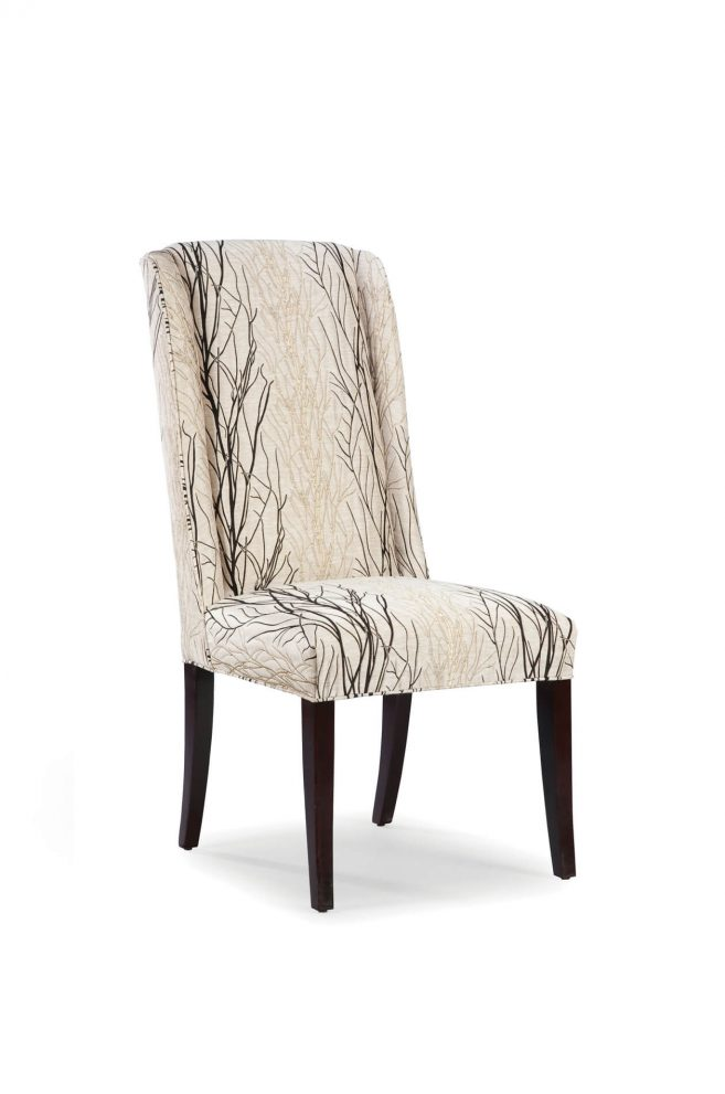 dora high back upholstered dining chair