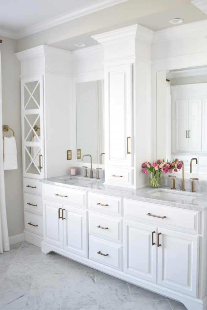 double sink vanity with lots of storage kate abt design in