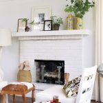 dress your mantel for winter