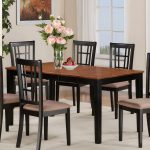 east west furniture nicoli 54 66 inch rectangular dining table with butterfly leaf