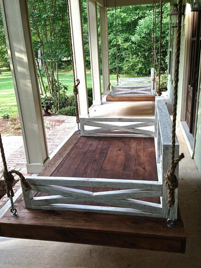 easy 50 diy porch swing bed plans ideas on a budget