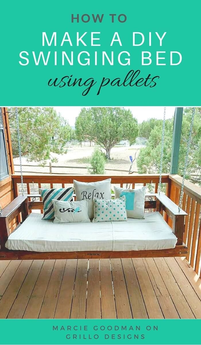 easy breezy diy porch swing bed ideas in 2019 hanging
