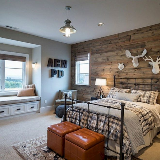 easy farmhouse style bedroom renovation designs for your
