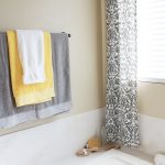 easy no sew curtains and master bathroom color scheme love