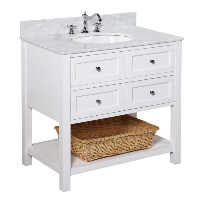 elegant 36 inch bathroom vanity for your bathrooms focal point