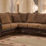 elegant sectional traditional sofa couch for living room large big leather brown