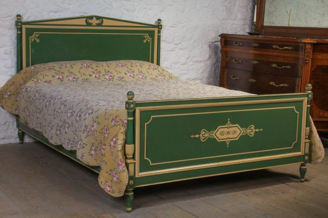 empire style french king size original interestingly painted