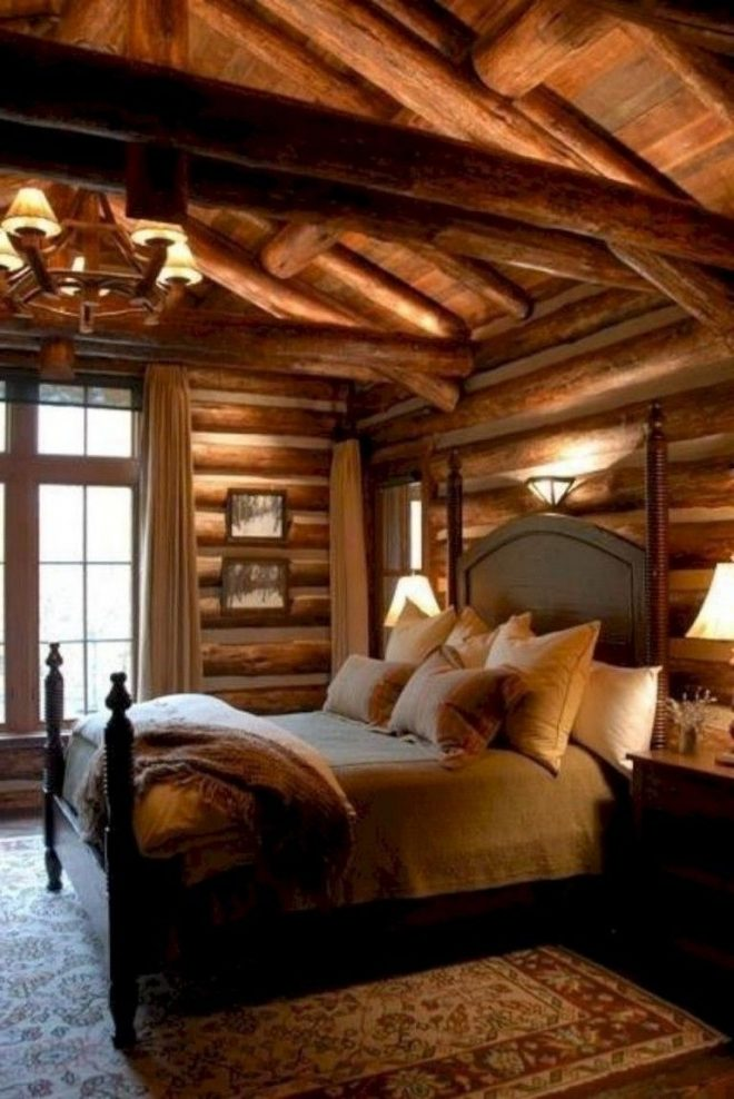 engaging log cabin bedroom decor elle small ideas girl style