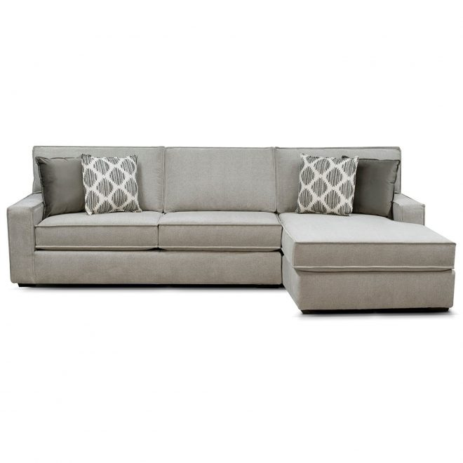 england lyndon contemporary sectional with chaise dunk