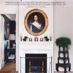 english country house style fireplace via bellle vivir blog