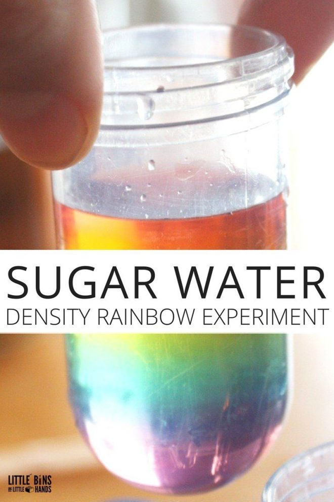 erupting rainbow science experiment for kids science