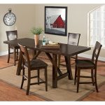 everett counter height table value city furniture 340