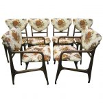 excellent set of six dining chairs mid century modern for sale at