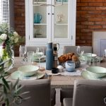 exceptional blue gray dining room or riviera of blue interior