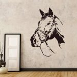 exquisite horse room decoration accessories for kids rooms diy bedroom decor decal wallpaper murals creative stickers