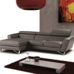 exquisite leather sectional with chaise