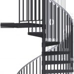 exterior spiral stair kit home improvement in 2019