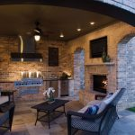 exteriors contemporary outdoor living room with rustic