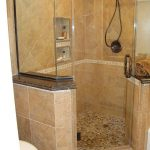 extraordinary small bathroom ideas with corner shower only