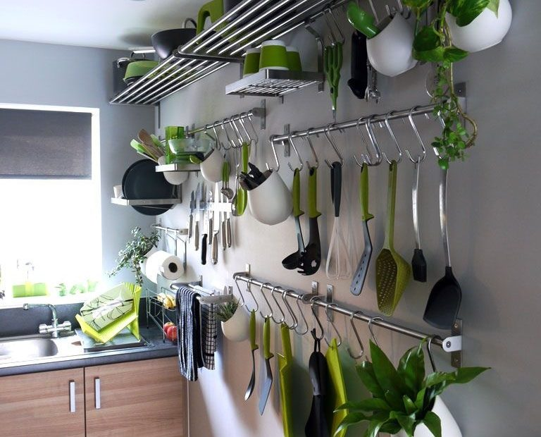 extremely small galley kitchen storage kitchen wall