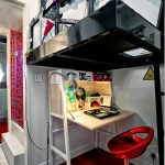 family friendly small hong kong flat cleverly makes room for