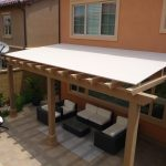 fancy outdoor wood awning ideas for your exterior design