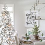 farmhouse dining room christmas decorations clean and