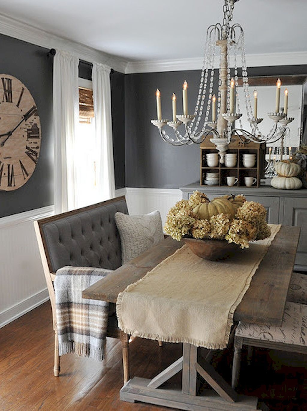 farmhouse dining room decorating ideas 32 for the home
