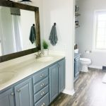 farmhouse style fixer upper bathroom on a budget must have mom